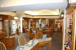 Family Eyecare Associates in Millersburg, OH interior showroom