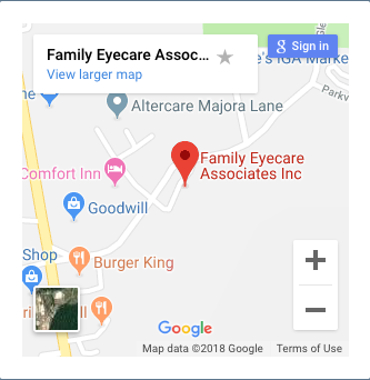 Map of Family Eyecare Associates