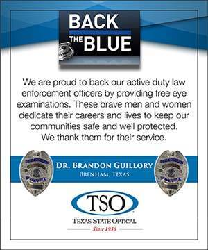 Back The Blue TSO Brenham