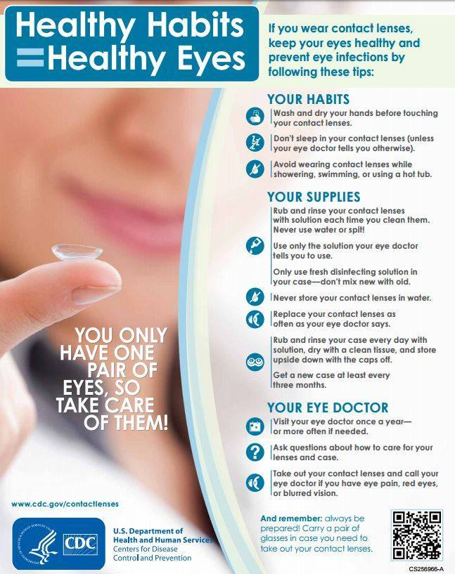 contact lens healthy