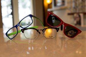 Ray-Ban frames available at First Eye Care Grand Prairie TX