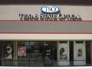 TSO Woodlands storefront, Eye Doctor