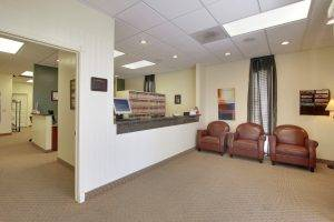 interior Ackroyd and Hoose Optometry in San Diego