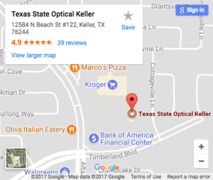 Texas State Optical Keller