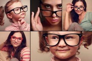 Eyeglasses Family, Museum District