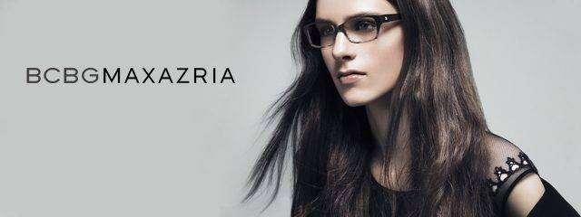 Optometrist, woman wearing BCBG MaxAzria eyeglasses in Milton, ON