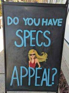 Do You-Have Specs Appeal? in Allen, TX