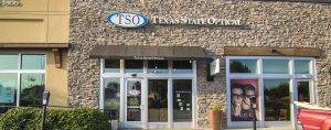Store front, Eye Care in Allen, TX