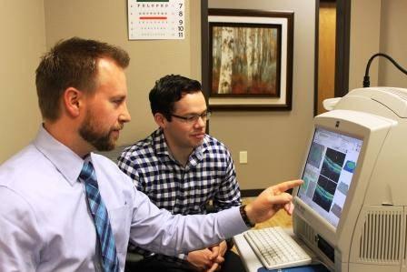 Allen eye exam technology