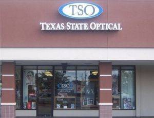 TSO Briargrove Storefront , Eye Care
