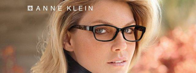 Eye doctor, woman wearing Anne Klein eyeglasses  in Seattle, WA