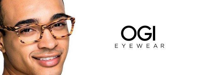 Eye doctor, man wearing OGI eyeglasses in Seattle, WA