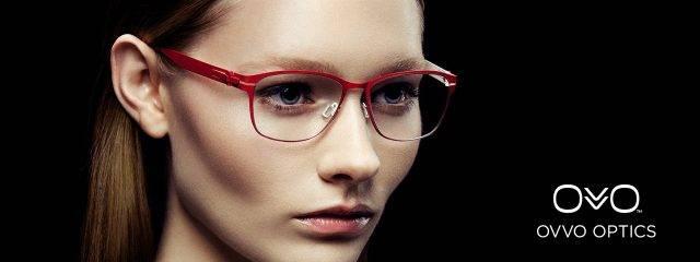 Eye doctor, woman wearing OVVO eyeglasses in Seattle, WA