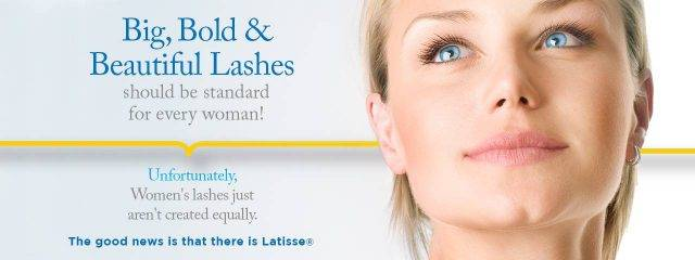 Eye doctor, woman with long lashes in El Paso, TX