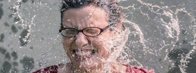 Eye doctor, woman wearing specialty eyeglasses in El Paso, TX