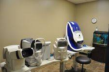advanced technology eye exam room