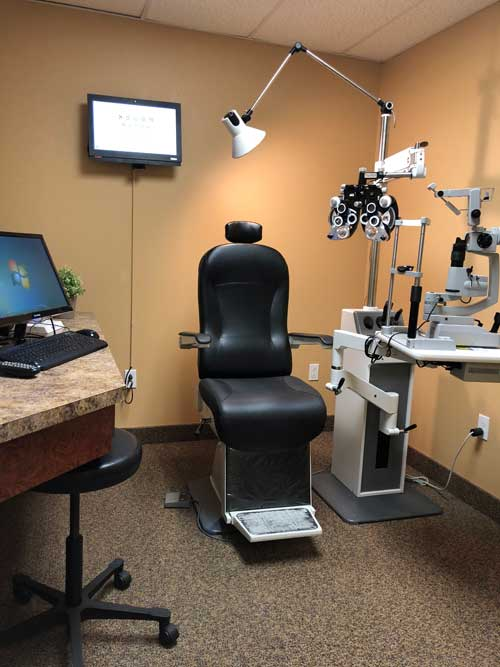 West Plano TSO Eye Exam room