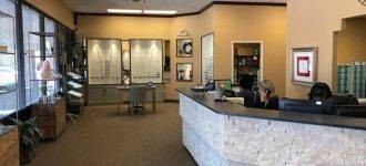 Reception are at Texas State Optical West Plano