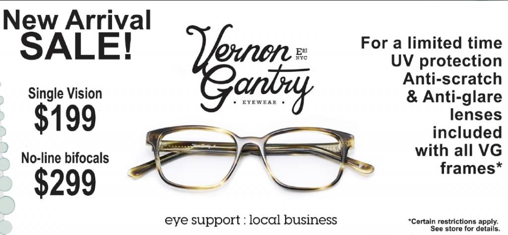 Opticare Vision Centers - Newport - Vernon Gantry