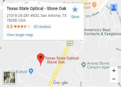 TSO Stone Oak Map