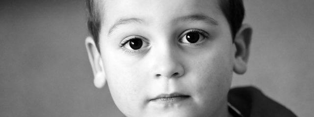 Eye care, boy with strabismus in Round Rock, TX