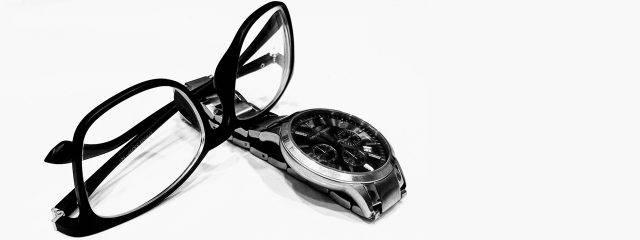 Optometrist, pair of eyeglasses & watch in Round Rock, TX