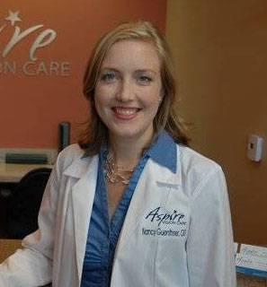 Eye exam, Dr. Nancy Guenthner in Round Rock, TX