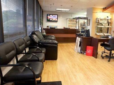 Eye doctor's office in Austin Texas