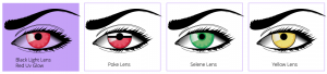 colored contacts - prescription