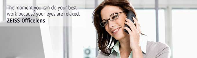 ZEISS Officelens for Digital Eye Strain in McKinney, TX
