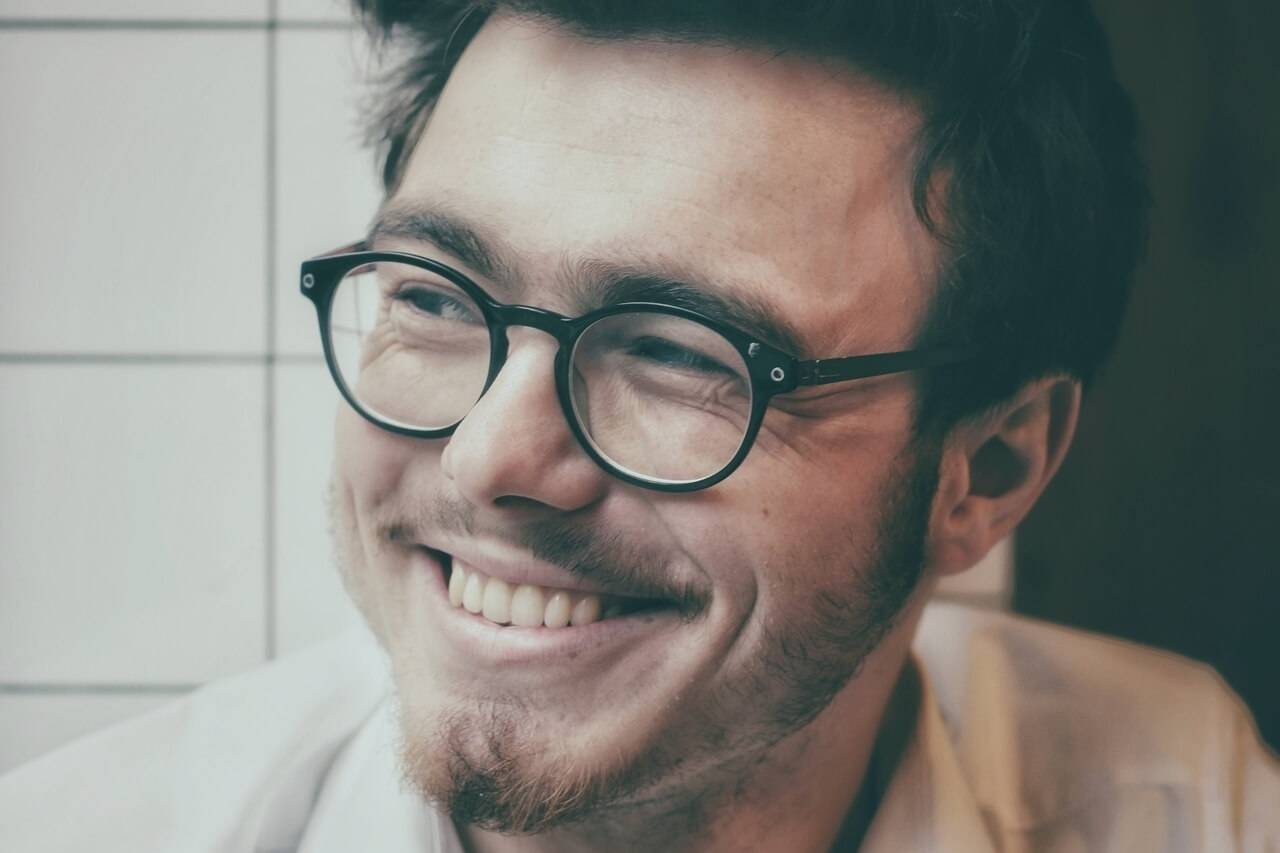 man eyeglasses happy_1280x853