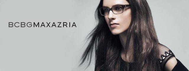 Eye doctor, woman wearing BCBGMaxAzria eyeglasses in Irving, TX