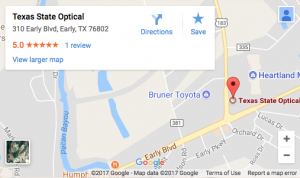 Texas State Optical Map