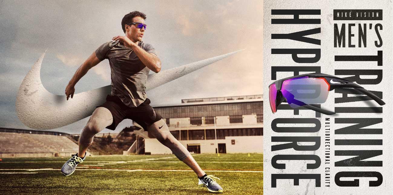 Nike Vision Hyperforce eyewear at EYECenter Optometric