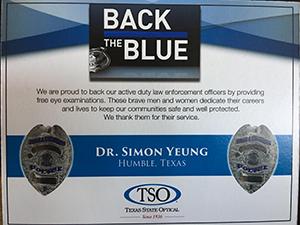 Back the Blue TSO Humble