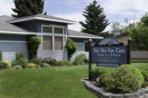 Exterior of Big Sky Eye Care in Hamilton, MT