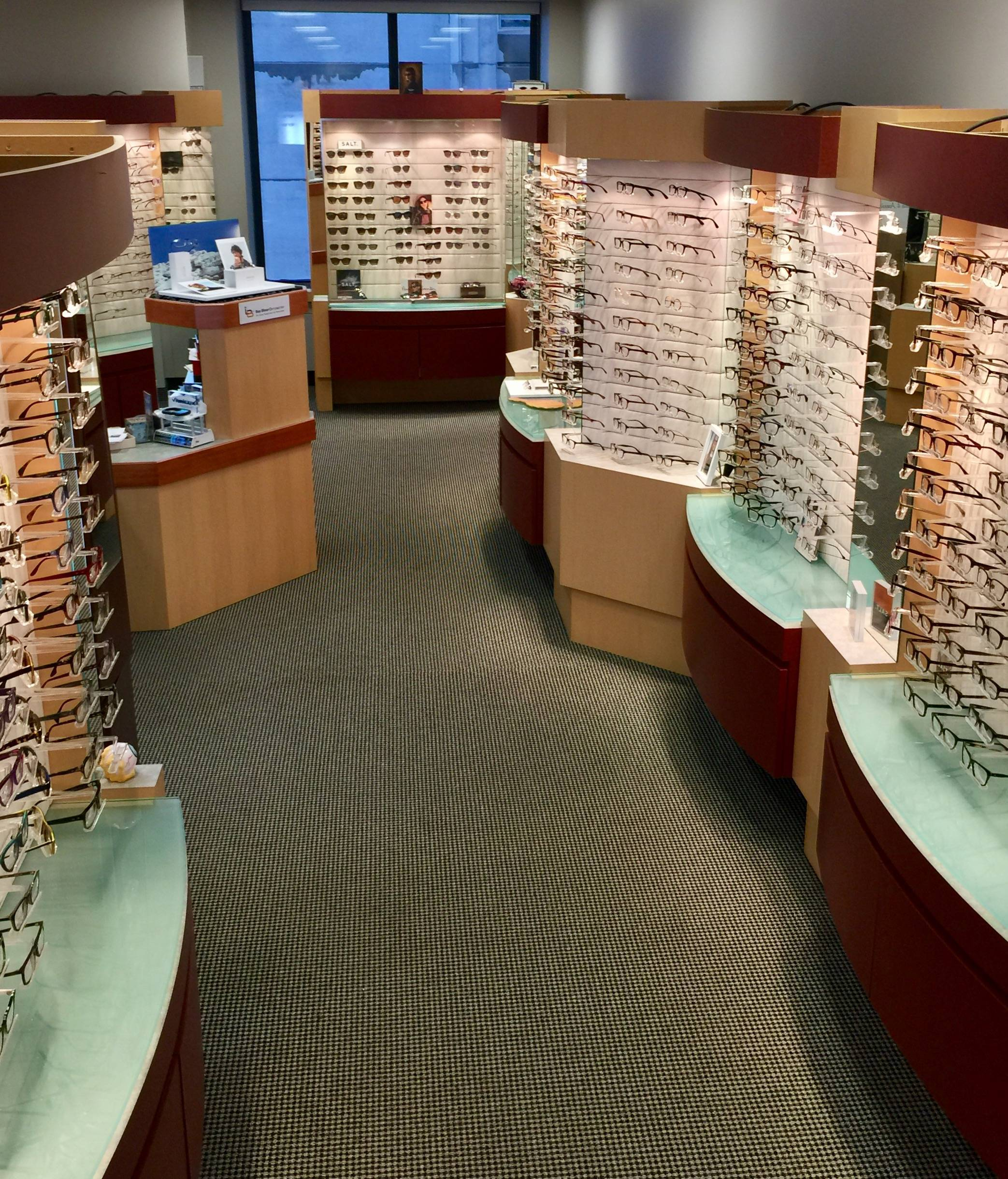 Selection of Eyeglasses in Yorkville, Toronto