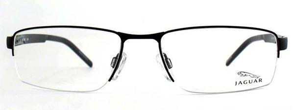 Optometrist, pair of Jaguar eyeglasses in Burlington, Massachusetts