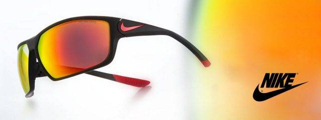 Eye doctor, pairs of Nike Eyewear sunglasses in Burlington, Massachusetts