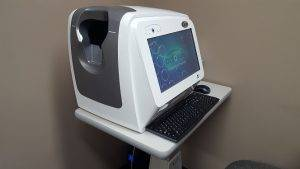 iScan Optical Coherence Tomography (OCT ) at all eyes vision care in clarksville tn