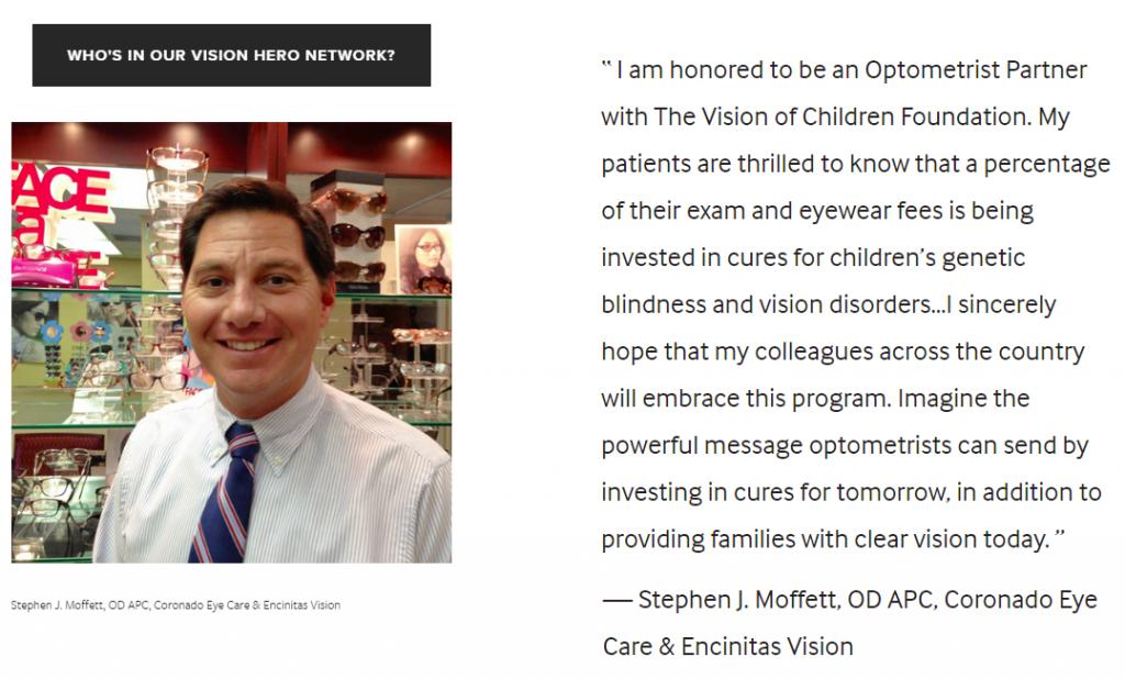 Dr Moffett Vision Hero