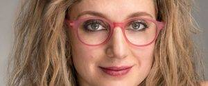 middle aged woman in Vari eyeglasses