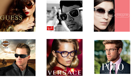 Designer Eye Frames Coach Versace Guess Ray Ban Polo
