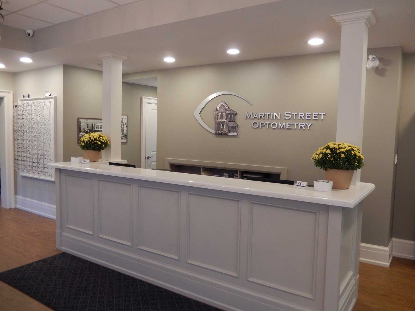 Front Desk Martin Street Optometry