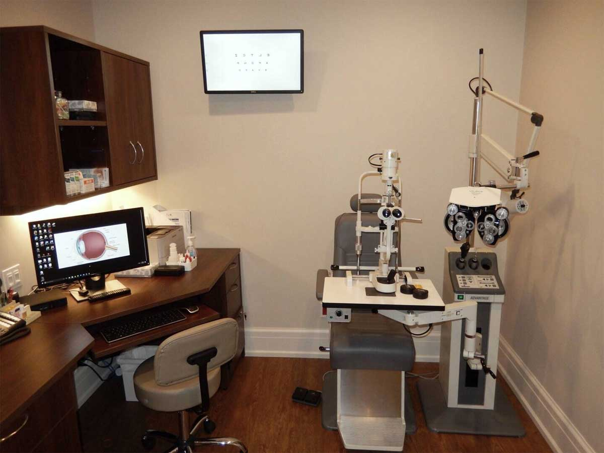 Martin Street Optometry Exam Room