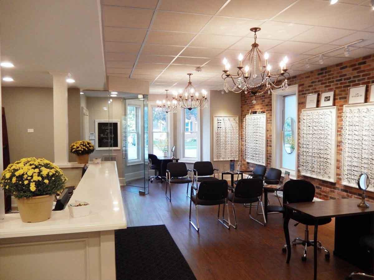 Martin Street Optometry Front Desk