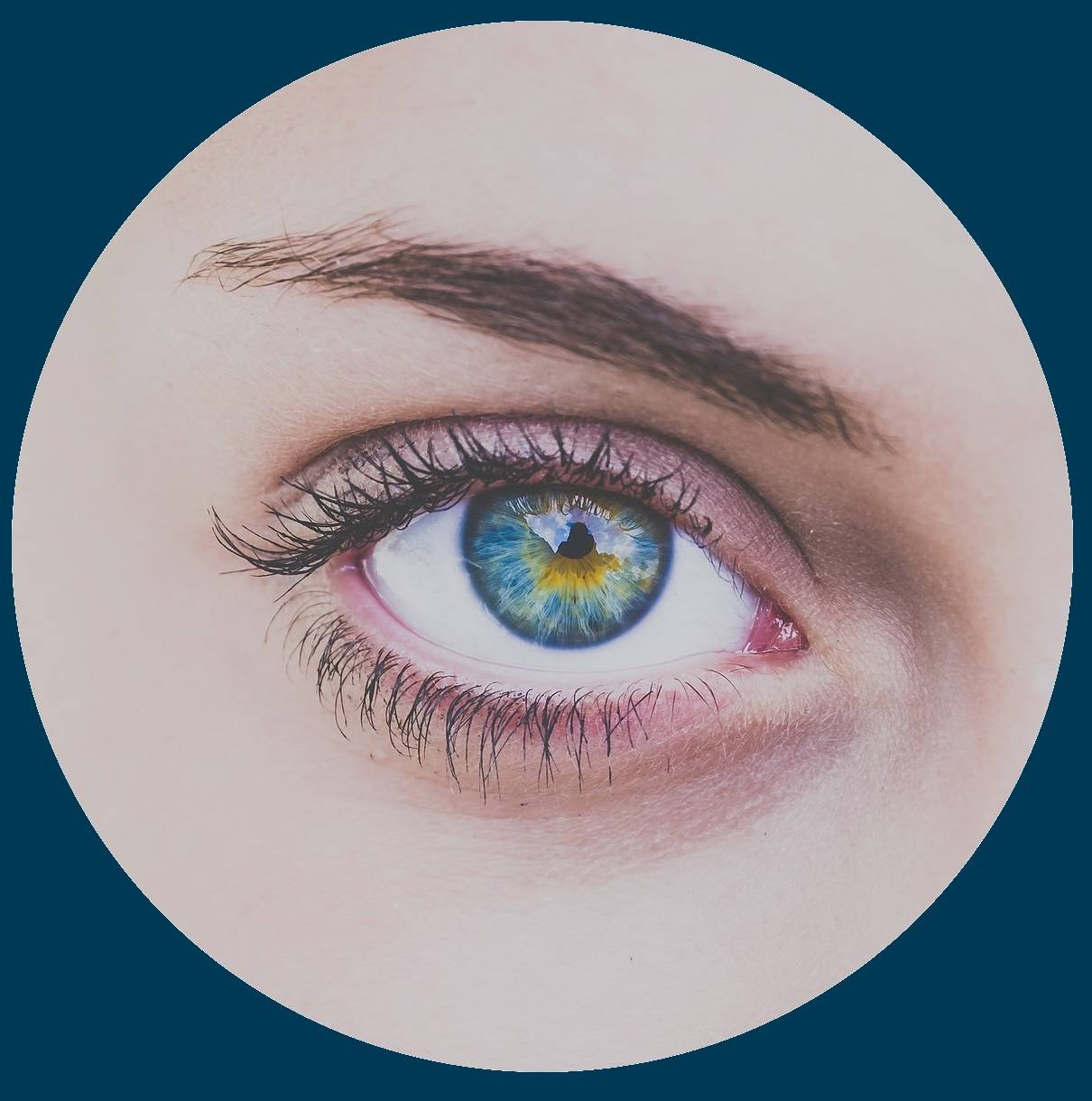 Green eye in Timonium, MD