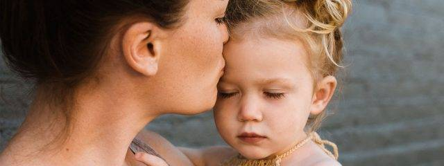 Mother Kissing Female Child 1280x480 640x240