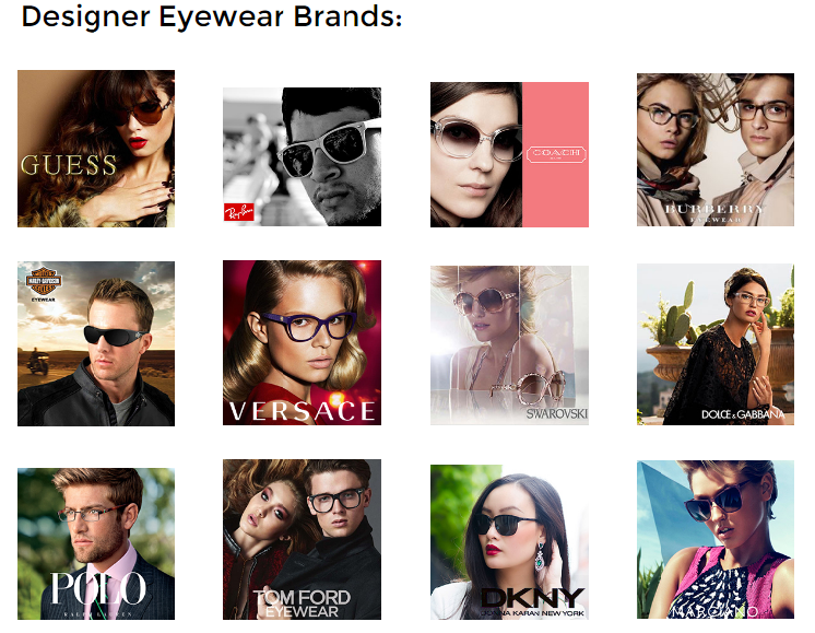 Designer Eyewear and sunglasses brands in Orlando and Lake Mary Florida