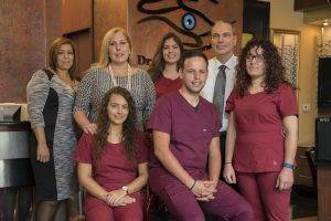 Marie Tartibi Eye Care Center Staff and building photography